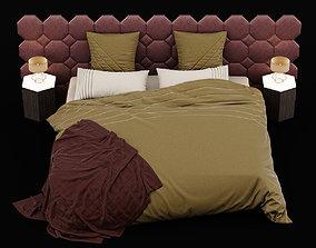 Modern bed 11 3D