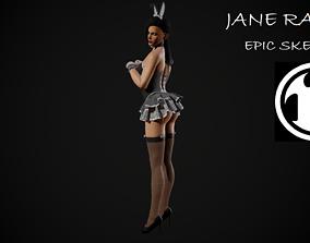 Jane Rabbit 3D model