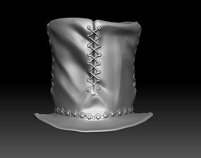 3D asset Printable Top Hat