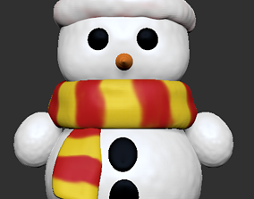 3D print model Snowman snow