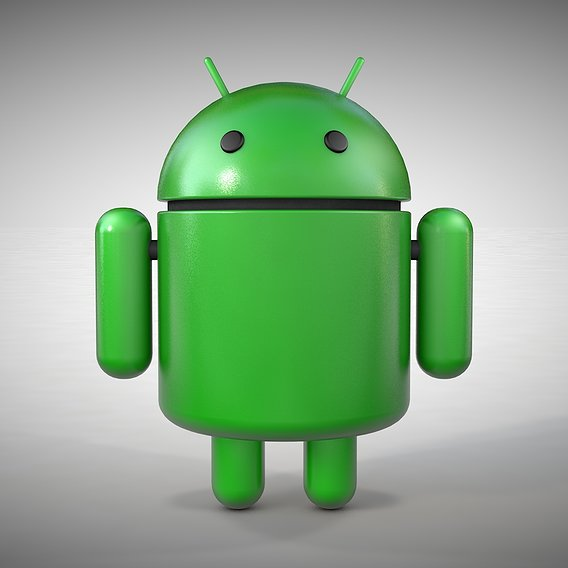 Android Robot - 3D Logo