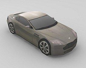 3D model Aston Martin AMV8