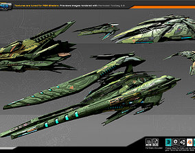 Spaceships Vol-06 3D asset