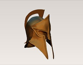olympus Ancient sparta greek army helmet 3D print model