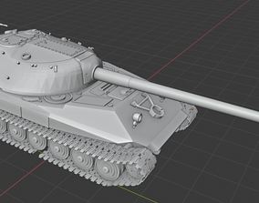 Russian Tanks Object 705 3D printable model