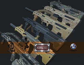 Modular Bullpup Rifle- Standard Variant 3D asset