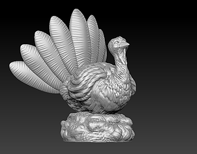 Thanksgiving Turkey 3D printable model
