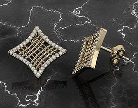 earring Jewelry Earring 3D printable model