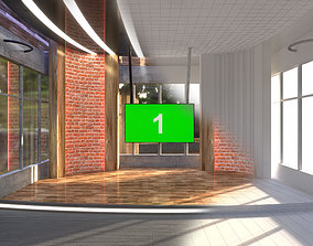 3D model Sun Virtual Studio