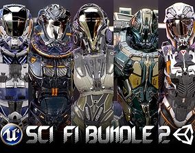 3D model Armors Bundle 2