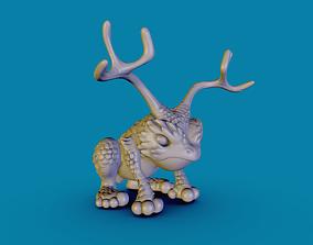 The King Frog 3D print model