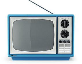 Vintage TV Quasar XP3163ML 3D model