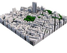 London city tile Level 2 block TQ2981 South East 3D model