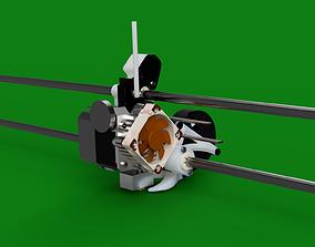 Titan Aero Mount V3 both versions for 3D print model 1