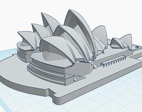 Sydney Opera House 3D print model