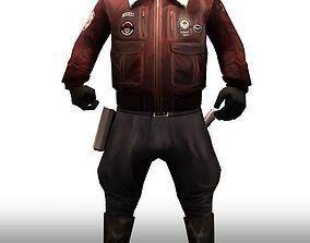 SWAT General 3D asset