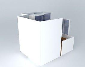 cyrille bathroom Frederic tabary 3D model