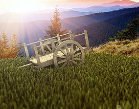3D bullock cart2