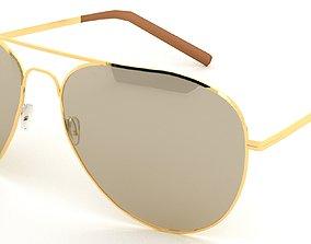 3D model Sunglasses Aviator