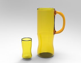 Carafe 3D Model game-ready