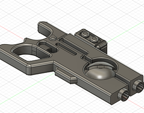 Tau Pulse pistol 3D