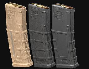 3D model AR-M4 - Magpul Pmag Magazine