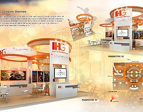 3D model IHG Hotel design size 7 X 6m