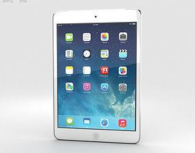 3D model Apple iPad Mini 2 Cellular Silver