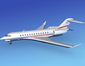 3D model Global Express XRS V02
