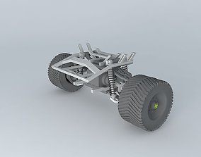 ATV front assembly with drive 3D