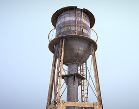 3D asset game-ready WaterTower