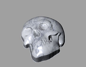 3d skull 3dsmax