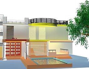 3D asset Home Garden