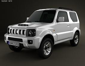 3D Suzuki Jimny 2013