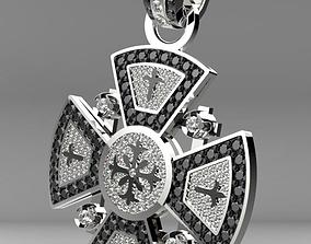 3D printable model Maltese cross