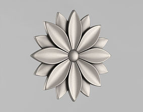 3D printable model Decor Rosettes wall