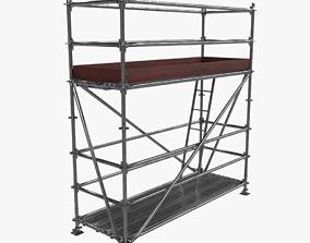 3D model low-poly Scafolding-1