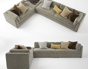 3D model Busnelli Oh-mar Corner Sectional Sofa