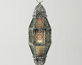 Metal Moroccan Lantern 3D model