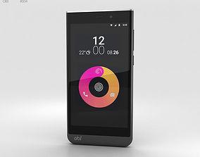 screen Obi Worldphone SJ1-5 Black-White 3D model
