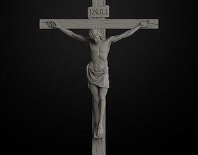 3D print model JESUS ON THE CROSS