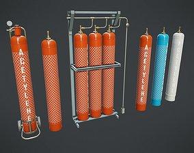 3D model Gas Cylinder 1