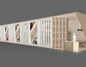Exhibition Stand - ST0021 3D model