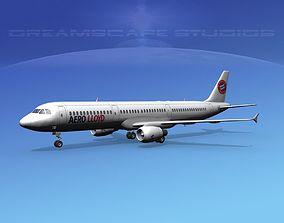 3D model Airbus A321 Aero Loydd
