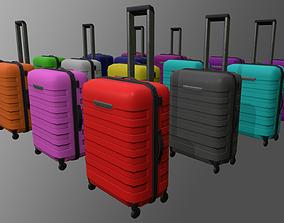 3D asset luggage bag