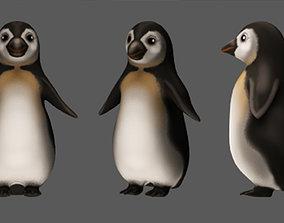 3D model Pingvin Four animations