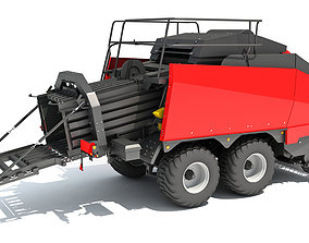 Large Square Baler 3D