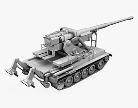 M-1978 Koksan 170 mm self-propelled gun 3D asset