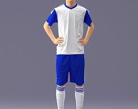 Soccer player 1114-8 3D model