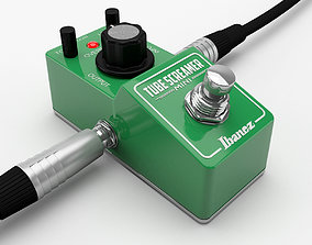 Ibanez Tube Screamer MINI Guitar Effect Pedal 3D